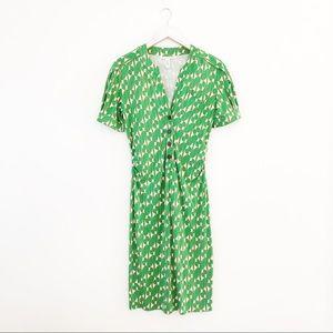 Diane Von Furstenburg Silk Cook Dress